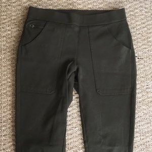 J. Crew Military Green Stretch Legging Size 00